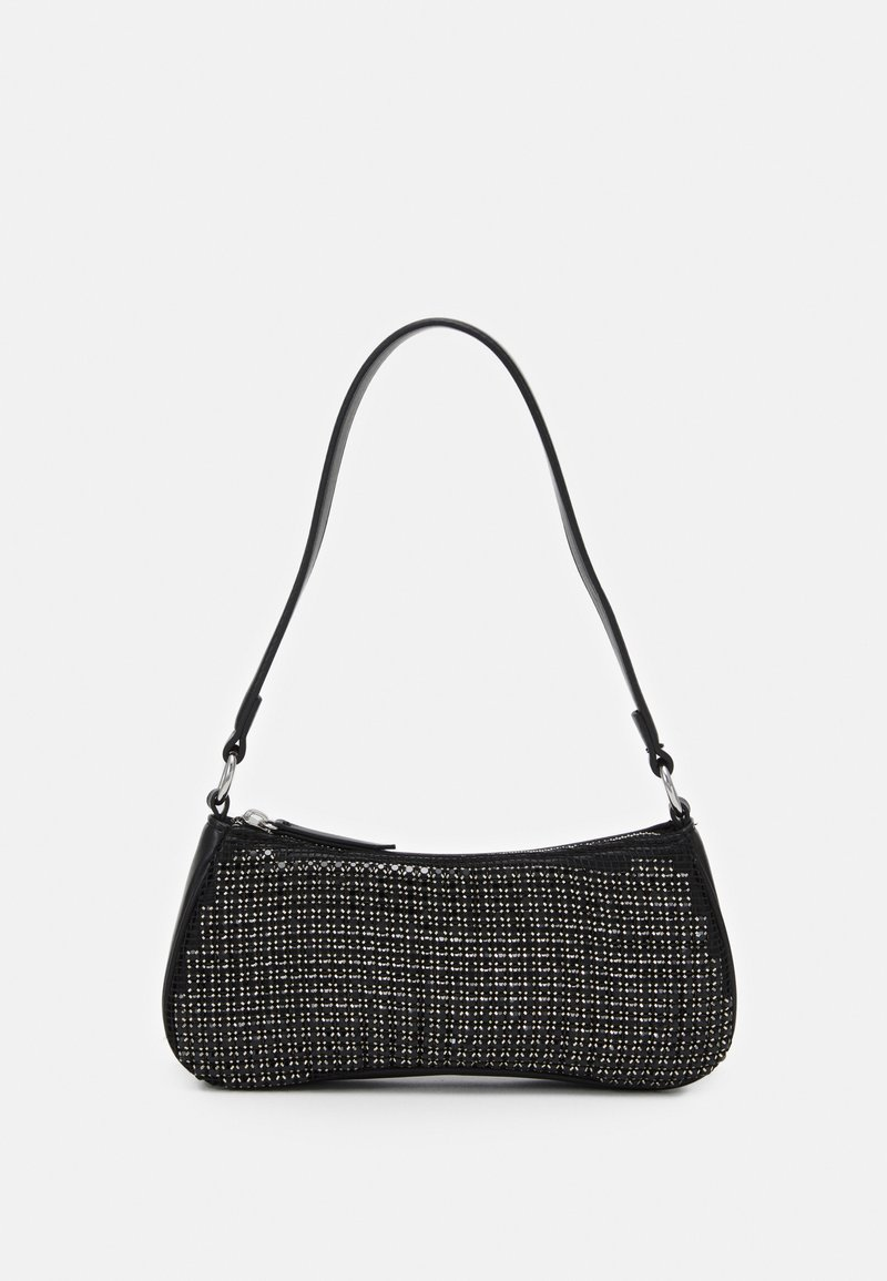 Topshop - ONE SIDED SHOLDER - Handbag - black
