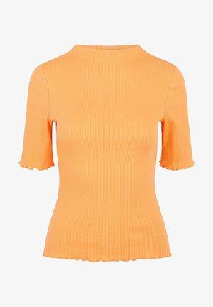 PCNUKISA MOCK NECK - Basic T-shirt - nectarine