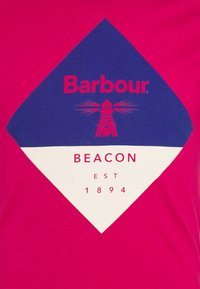 Barbour Beacon - DIAMOND TEE - T-shirt med print - cerise - 2
