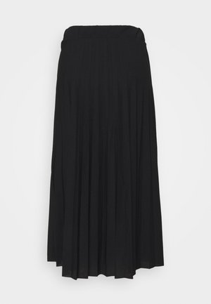 ADA PLEATED SKIRT - A-line skjørt - black