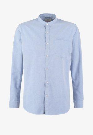 SLIM FIT - Skjorta - mid blue