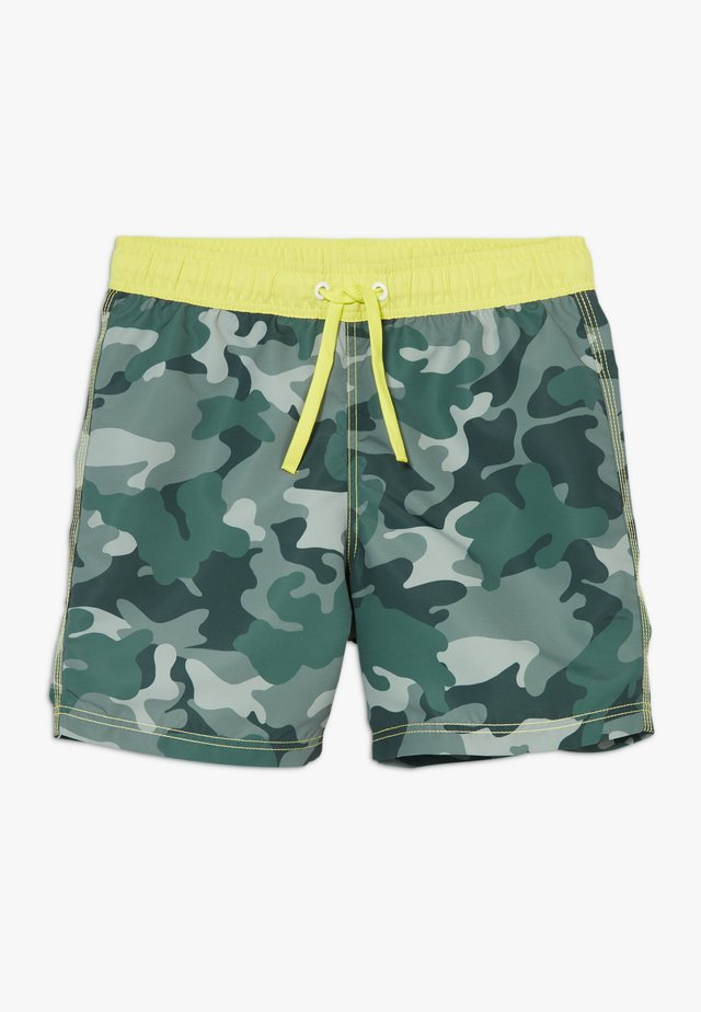 SWIM TRUNKS - Swimming shorts - khaki