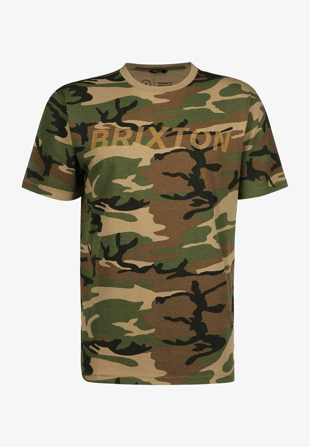 T-shirt print - olive