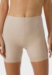 mey - SHORTS SERIE NOVA - Pants - cream tan - 0