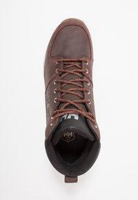 Helly Hansen - TSUGA - Trekking boots/ Trekking støvler - brunette/jet black/natura - 1