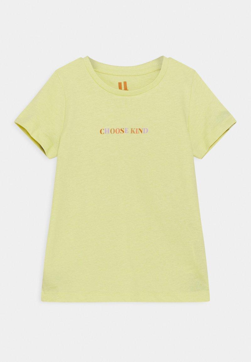 Cotton On - PENELOPE SHORT SLEEVE TEE - Triko spotiskem - lemon drop