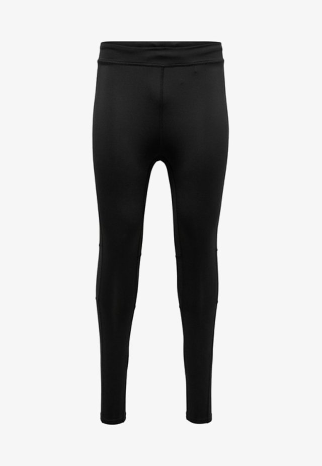 FIRST - Legginsy - black