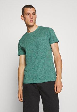 SLIM FIT - T-shirt basic - aqua green