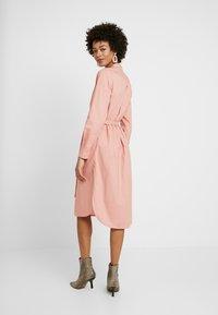 Part Two - LULU DRESS - Skjortekjole - rose dawn - 2