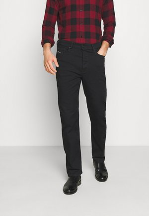 D-MACS - Straight leg jeans - black denim
