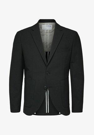 SLIM FIT - Blazer jacket - black