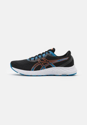 GEL EXCITE 8 - Neutral running shoes - black/marigold orange