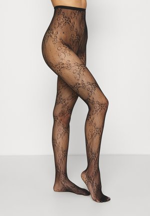 MAKE A SCENE TIGHTS - Tights - black