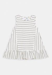 Turtledove - WIDE DRESS - Sukienka letnia - black/white - 0