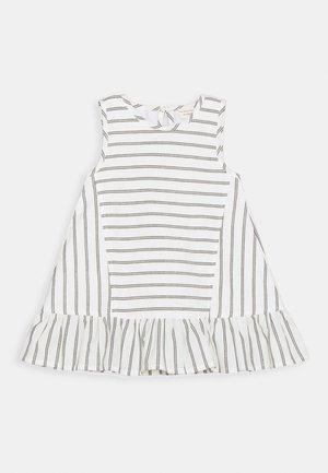 WIDE DRESS - Jurk - black/white