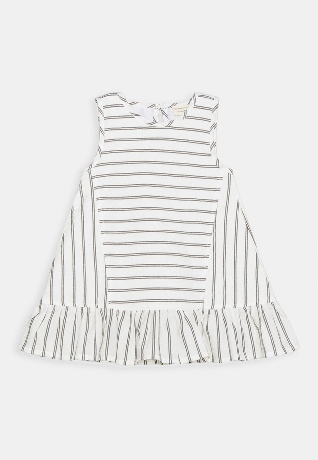 WIDE DRESS - Sukienka letnia - black/white