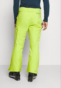 Columbia - KICK TURN PANT - Skibroek - bright chartreuse - 2