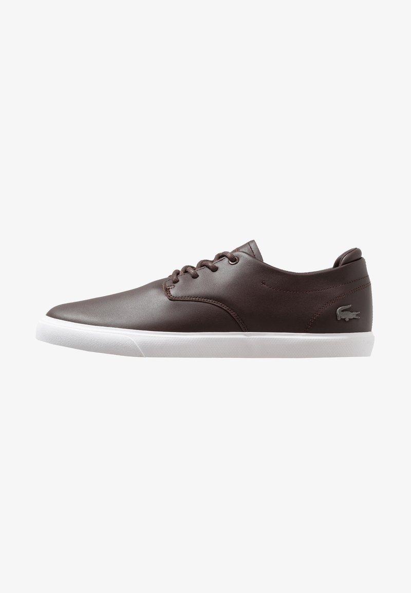 Lacoste - ESPARRE - Trainers - dark brown/white