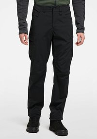 Haglöfs - MID FJELL PANT - Trousers - true black - 0