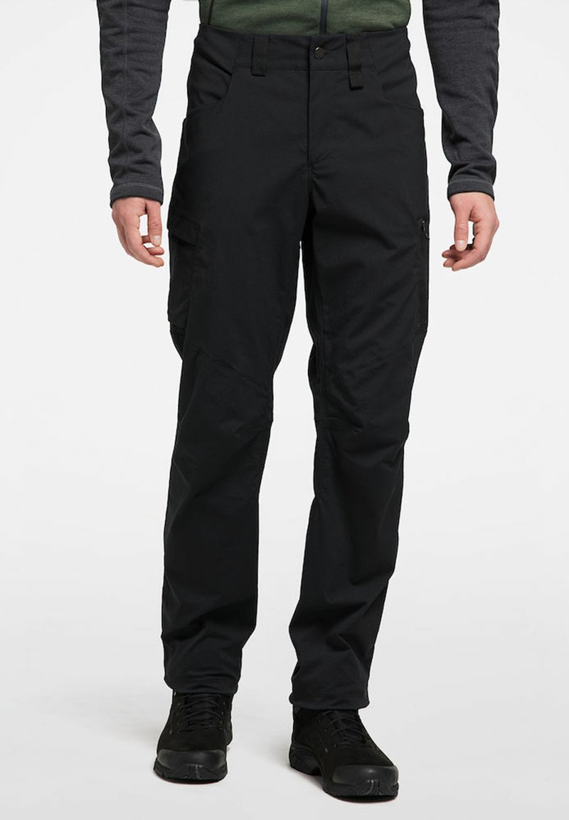 Haglöfs - MID FJELL PANT - Trousers - true black