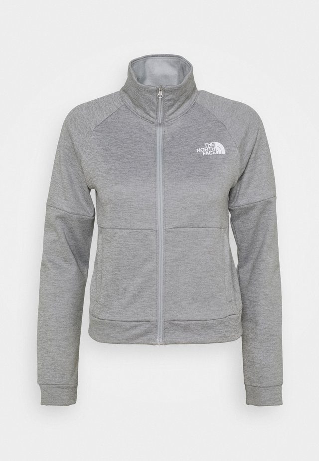 FULL ZIP JACKET - Fleecejacka - light grey heather