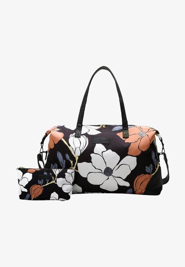 LUNA DUFFEL - Weekendbag - magnolia black