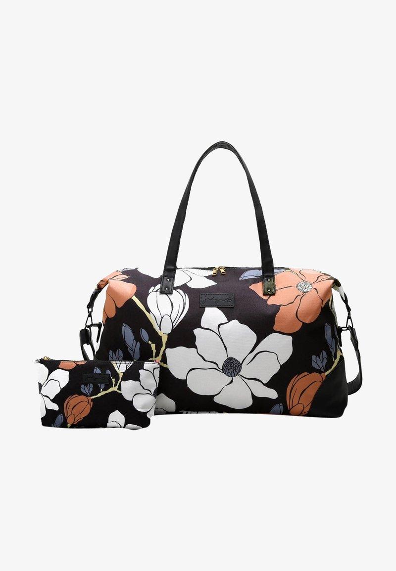 Jadyn B - LUNA DUFFEL - Weekendbag - magnolia black