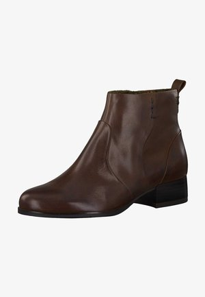 Ankle boots - brandy 306