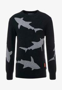 Raeburn - SHARK CREW - Maglione - black - 4