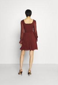 Trendyol - SIYAH - Cocktail dress / Party dress - burgundy - 2