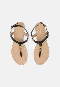 Anna Field Wide Fit - W-CIWI - T-bar sandals - black - 5