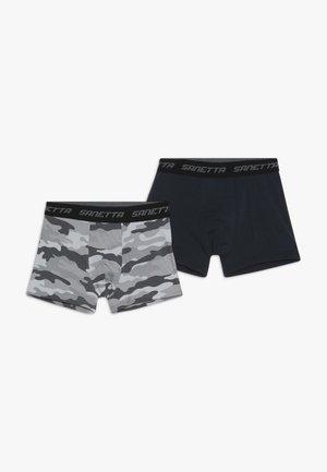 HIPSHORT 2 PACK - Pants - light grey