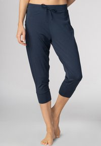 Mey - SCHLAFHOSE SERIE NIGHT2DAY - Pyjama bottoms - night blue - 0