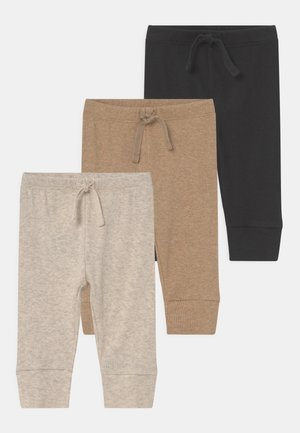 3 PACK UNISEX - Trousers - moonless night