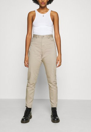 NORA - Relaxed fit jeans - cashew