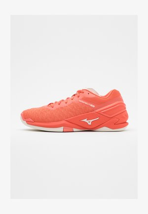 WAVE NEO - Zapatillas de balonmano - living coral