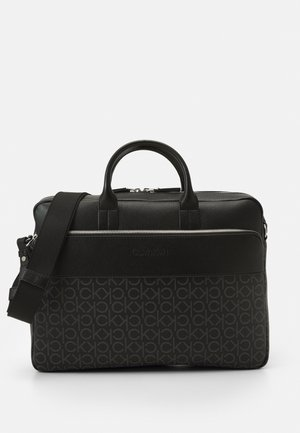 LAPTOP BAG UNISEX - Aktówka - black mono mix