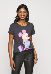 ONLY Petite - ONLMICKEY - Print T-shirt - grey - 0