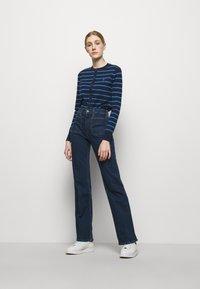 Polo Ralph Lauren - PIMA STRETCH - Cardigan - blue multi - 1