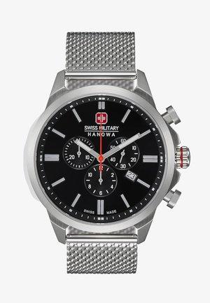CLASSIC - Chronograph watch - silver/black