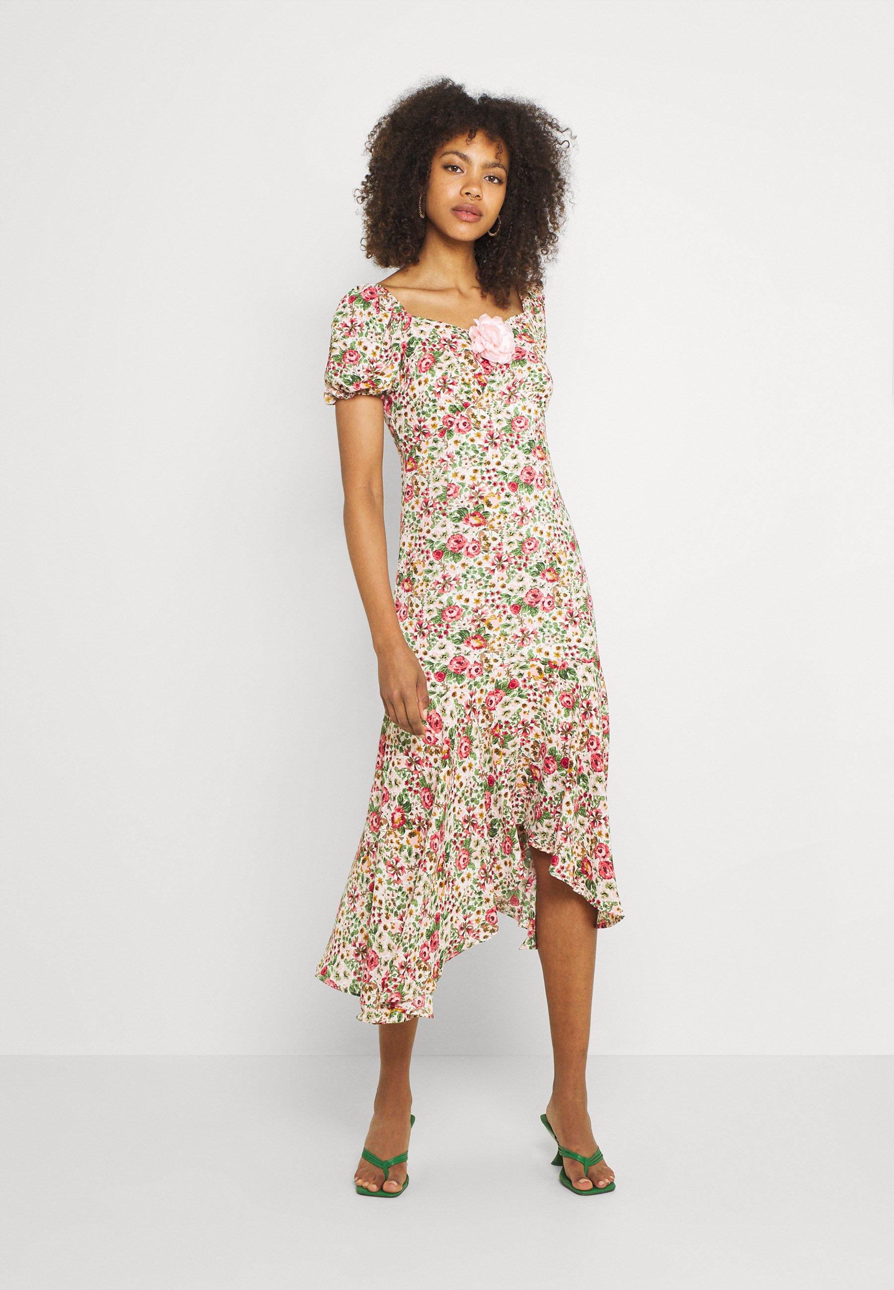 Women VENUS FLORAL MIDI DRESS - Day dress