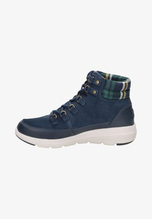 Lace-up ankle boots - blauw