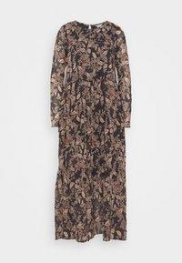 Lindex - DRESS KRINKLA - Maxi dress - offblack - 5