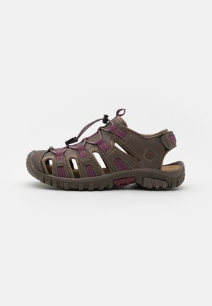 COVE SPORT WOMENS - Walking sandals - taupe/grape