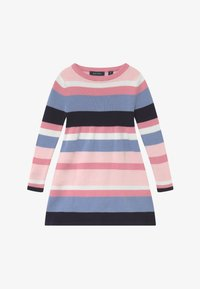 Blue Seven - KIDS STRIPE - Gebreide jurk - multi-coloured - 2