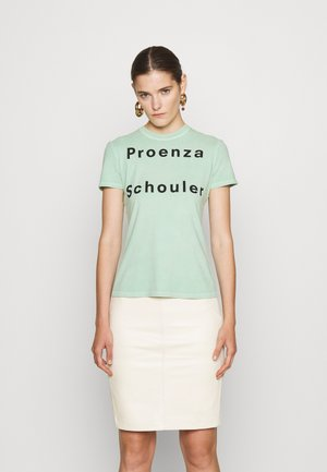 SOLID LOGO  - T-shirt con stampa - spearmint