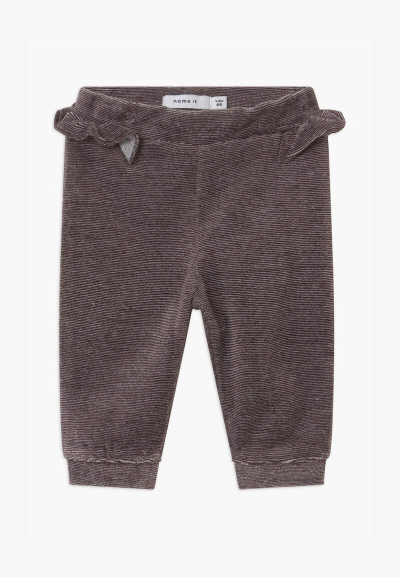 Name it - NBFNANETT BABY - Pantalon classique - mole