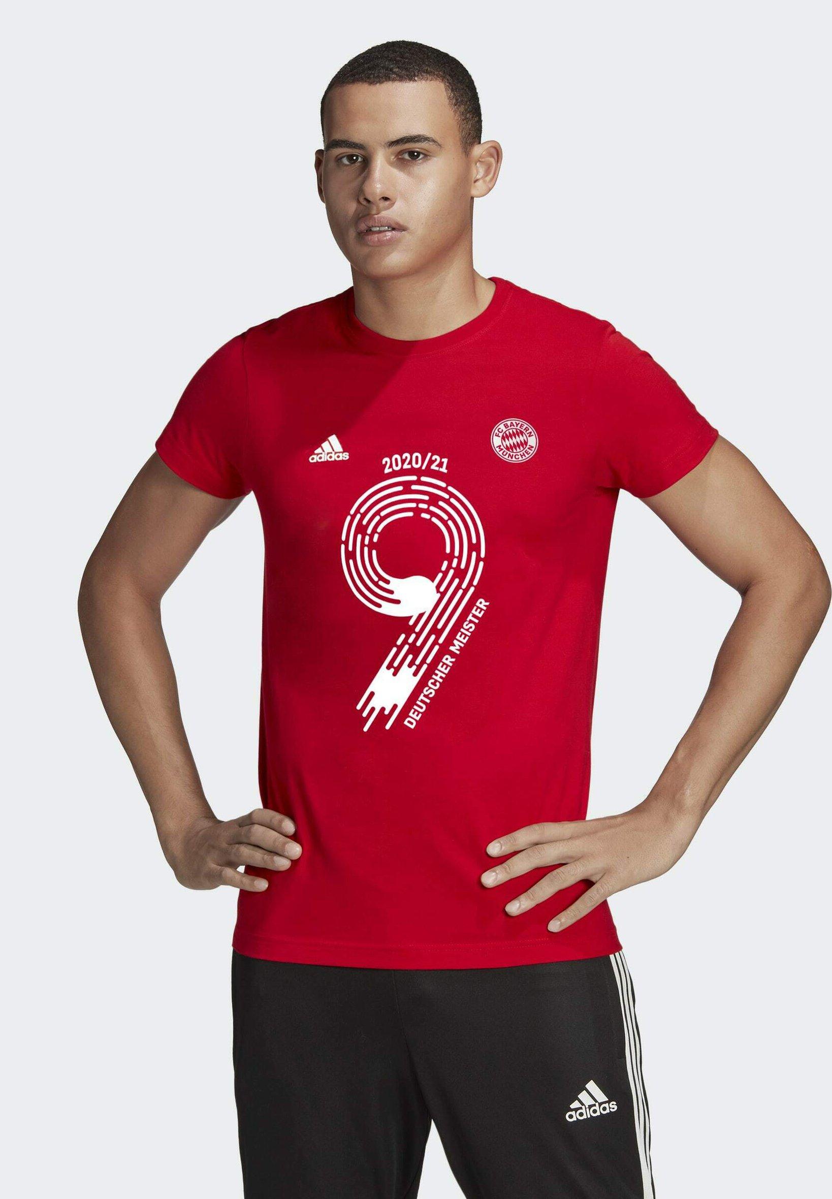 Men FC BAYERN NATIONAL LEAGUE WINNER TEE - National team wear