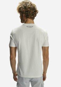 North Sails - T-shirt imprimé - white - 1