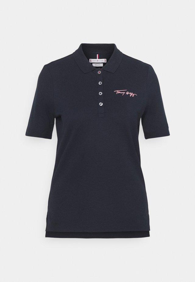 SCRIPT - Polo shirt - desert sky